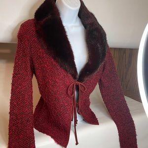Dina Bar-El sweater jacket